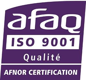 Logo Afaq ISO9001